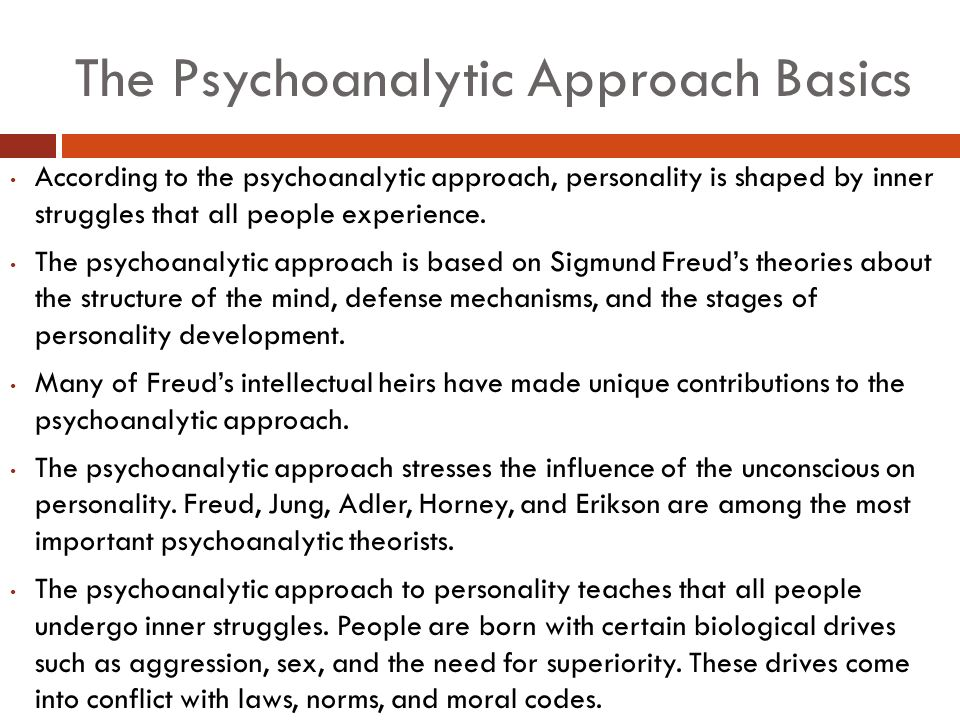 psychoanalytic approach essay Psychoanalysis is a theory developed by sigmund freud where concentration is placed on the unconscious life of individuals, however recent conceptions of psychoanalysis see it as a way of 'decoding' the sexual symbolism of literary texts in order to uncover the authors unconscious obsessions.