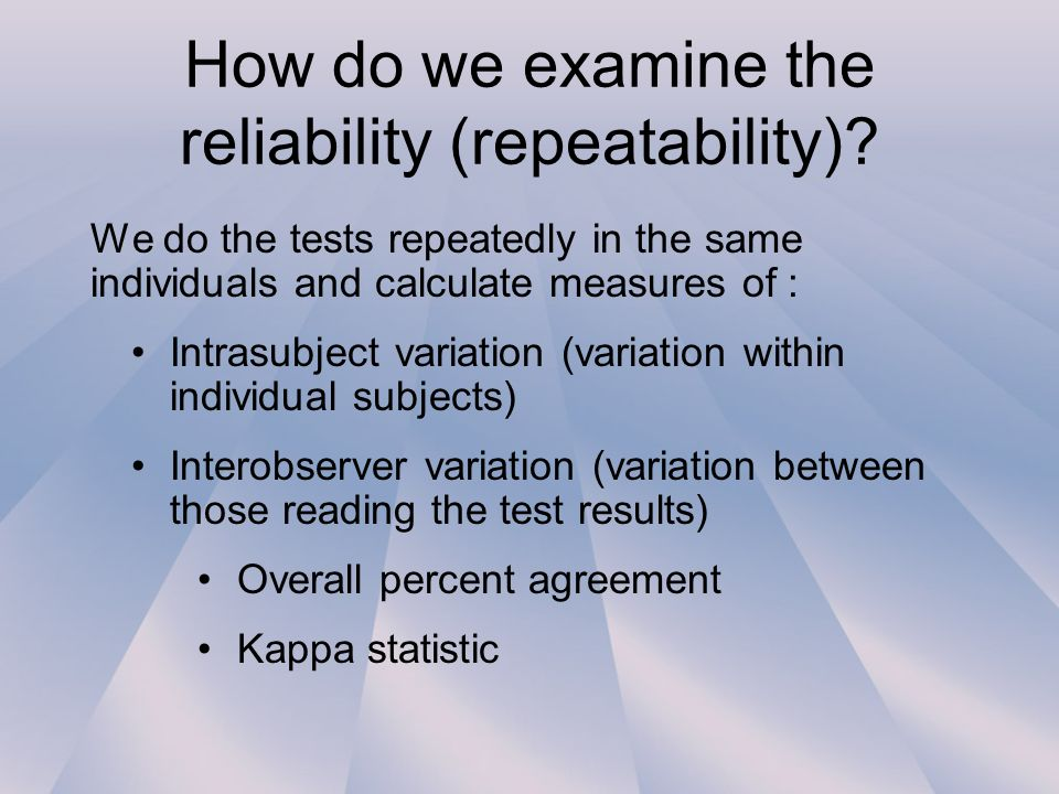 Lecture 4 Assessing Diagnostic And Screening Tests Ppt Video