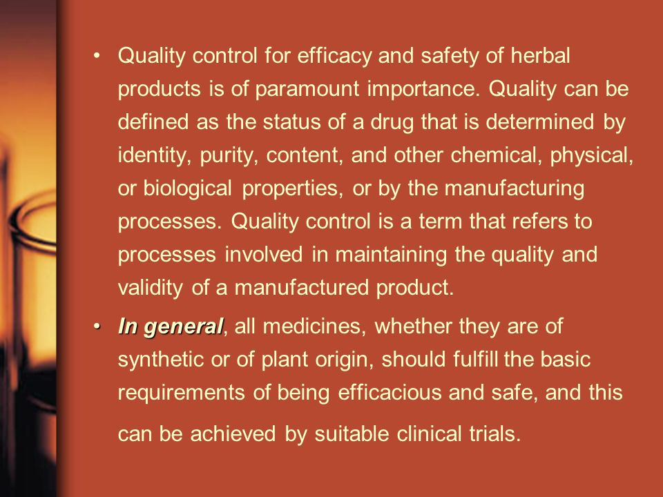 Quality Control of Herbal Drugs - ppt download