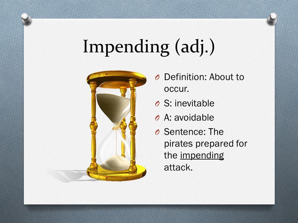 Impending Sentence