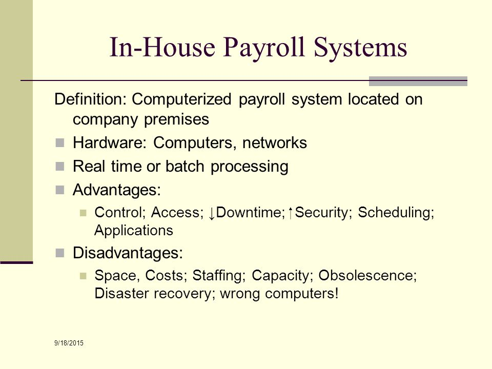 Superb Section 12 Payroll Systems Technology Ppt Video Online Download Free Architecture Designs Licukmadebymaigaardcom