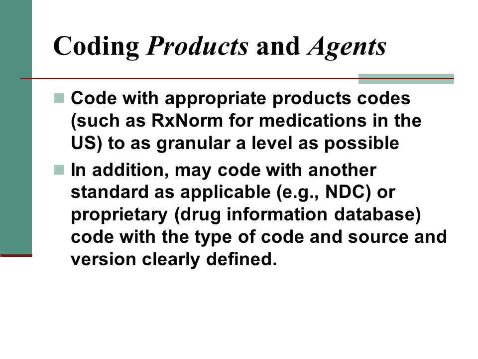 Coding Products and Agents