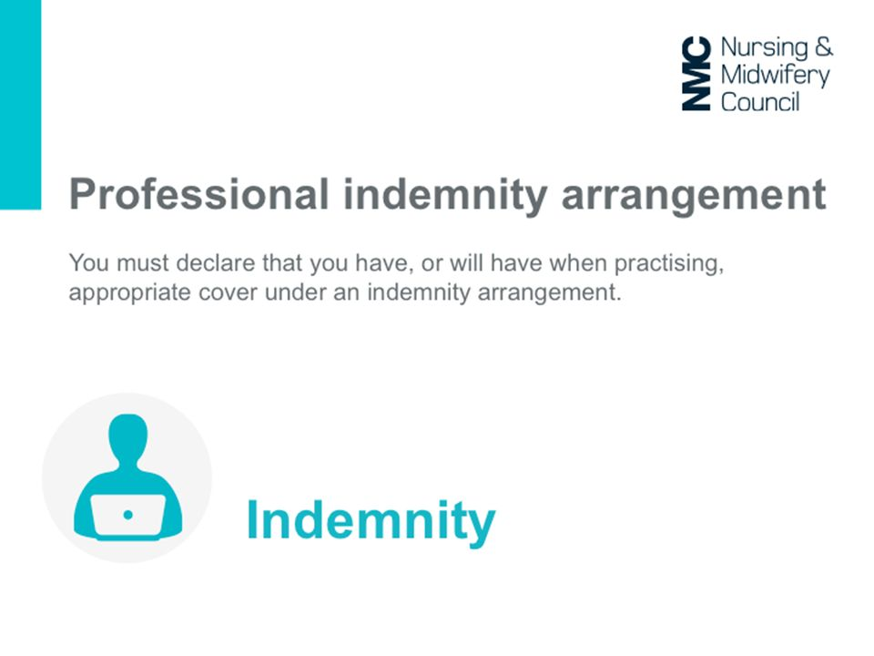 As an NHS employee you have indemnity through vicarious liability