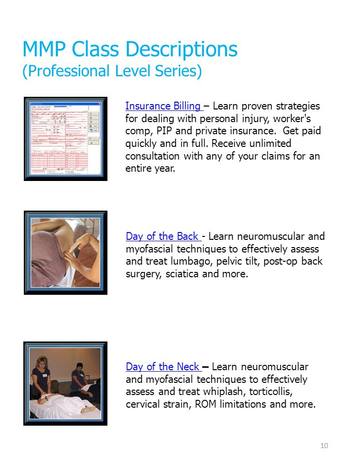 Providing Continuing Education Seminars to Massage Therapists for ...