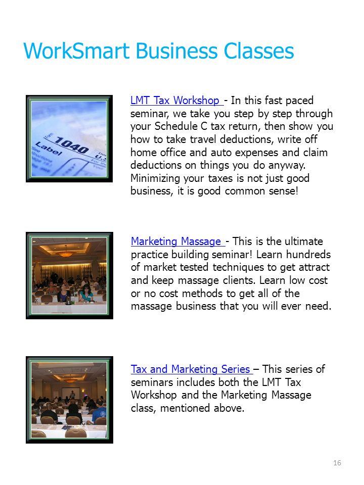 Providing Continuing Education Seminars To Massage Therapists For