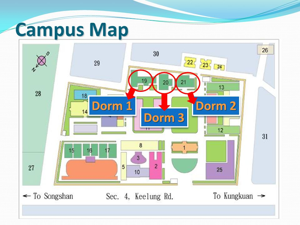 Udm Campus Map.Introduction Of The Office Of Student Affairs Ppt Video Online