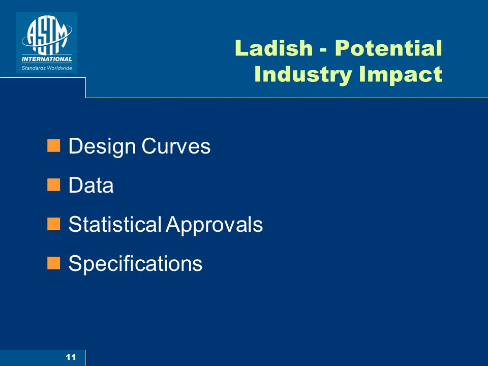 Ladish - Potential Industry Impact