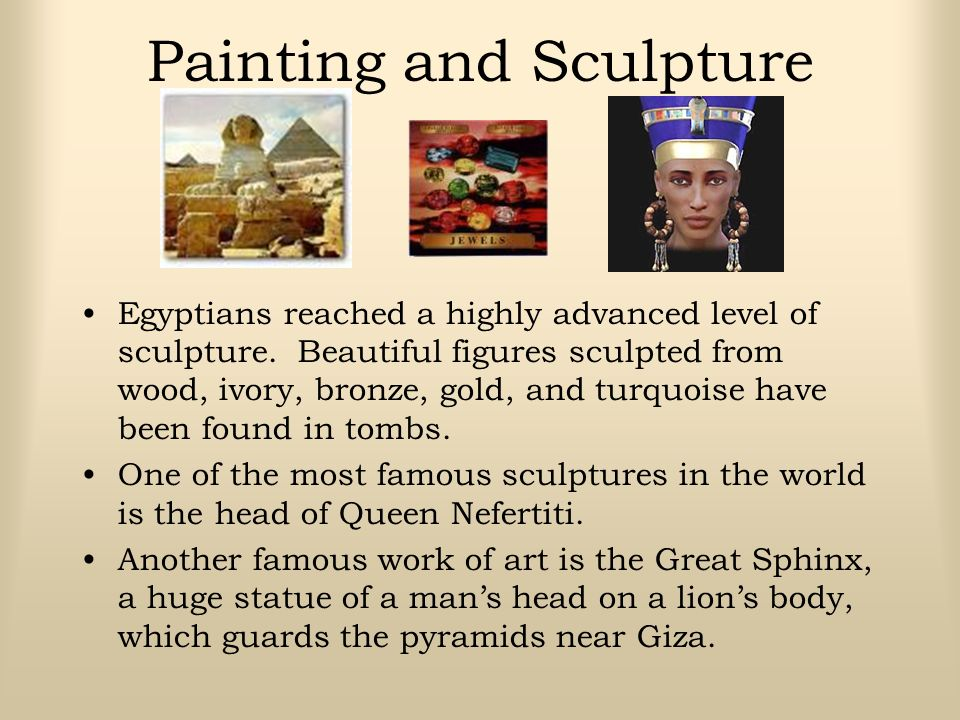 Painting and Sculpture
