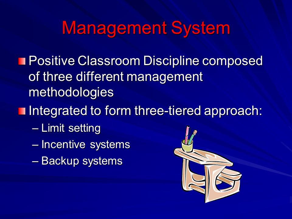 Chapter The Critical Role of Classroom Management