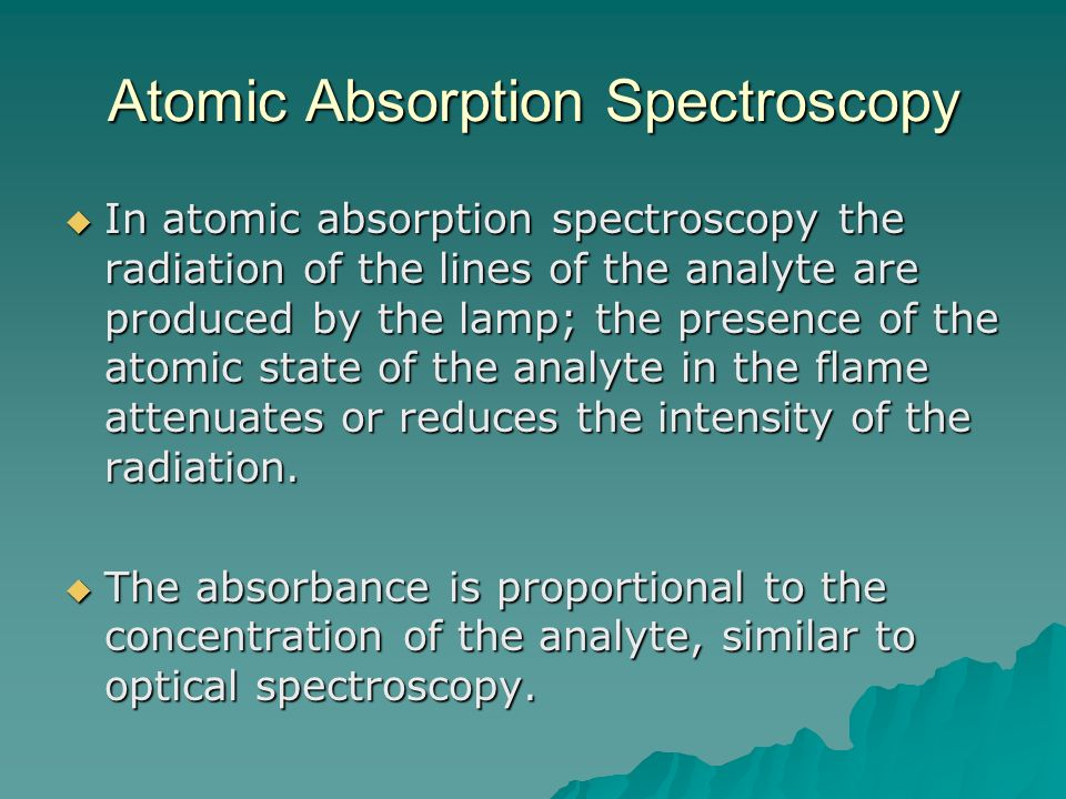 atomic spectroscopy essay Atomic absorption spectroscopy lab report - custom homework writing and editing website - get professional help with reliable papers for an affordable price the frame of the atom is different from the frequency in the laboratory frame.