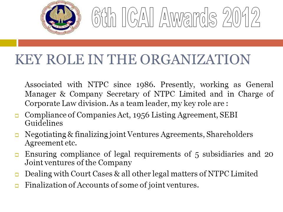 Name of the Nominee –ANIL KUMAR RASTOGI (FCA-07109) - ppt