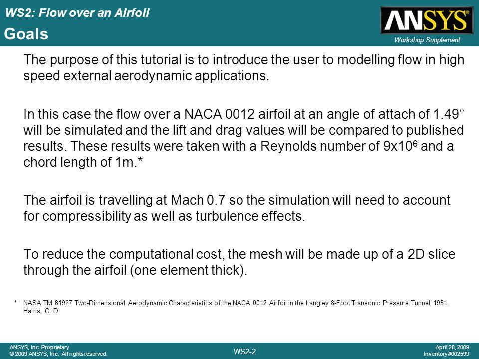 cfx tutorial airfoil