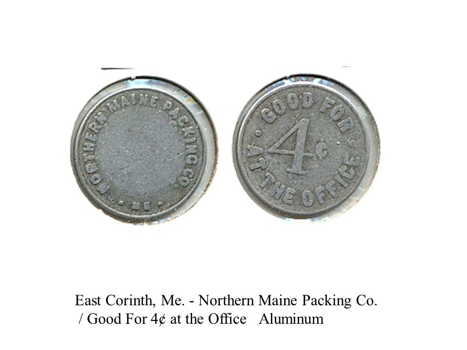 East Corinth, Me. - Northern Maine Packing Co.