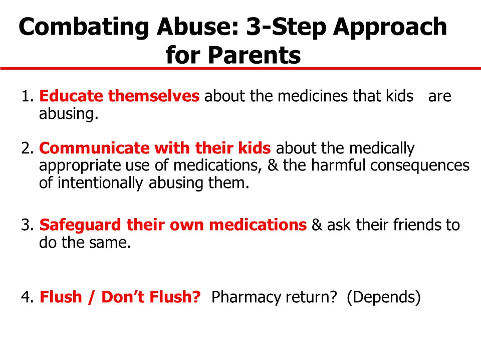 Combating Abuse: 3-Step Approach for Parents