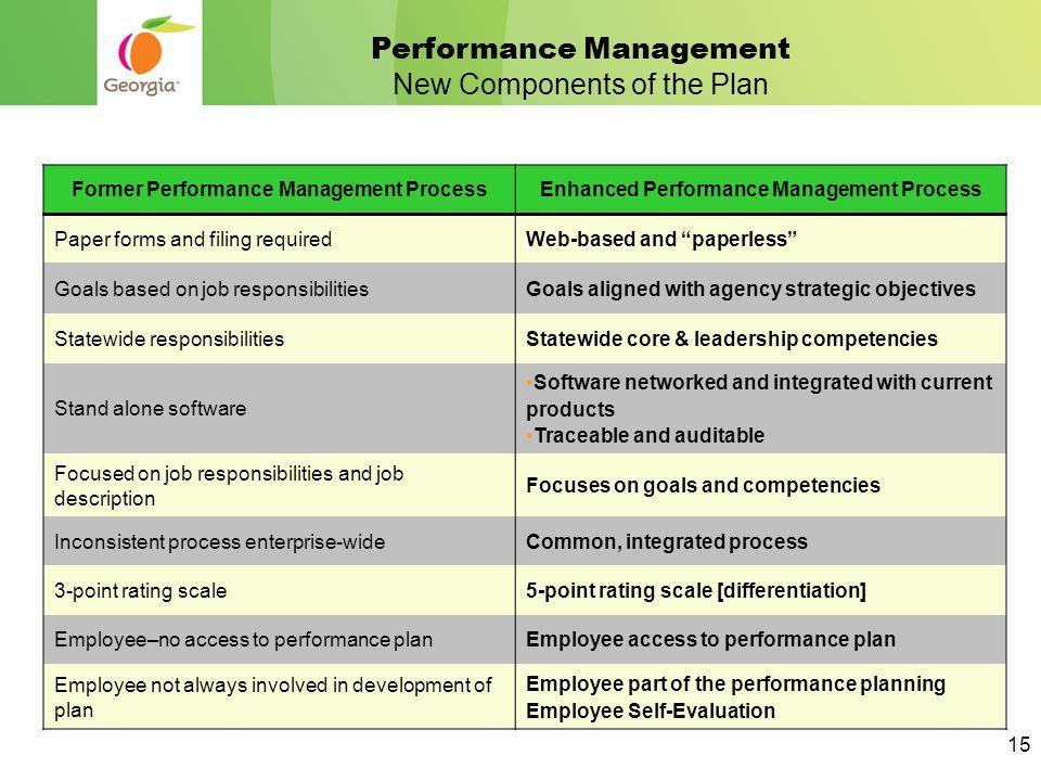 performance management job description pdf