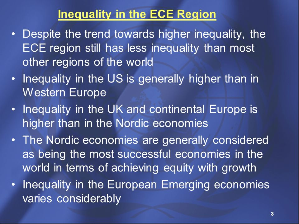 Inequality in the ECE Region