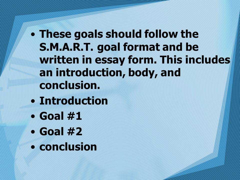 Goal Setting Smart Goals Ppt Video Online Download