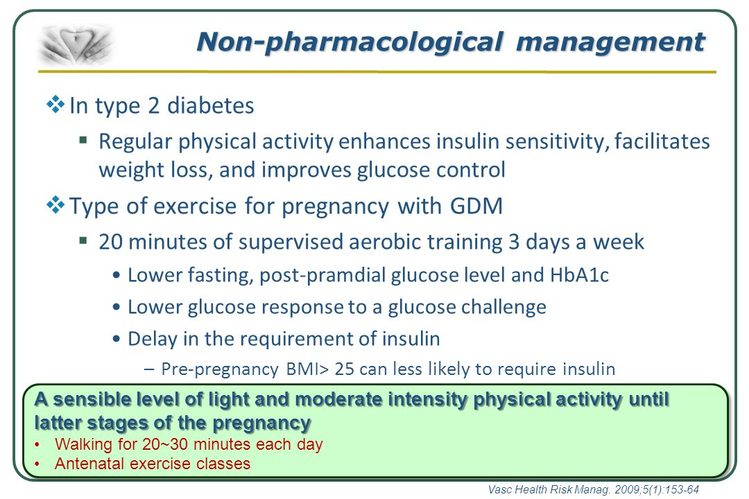 Non Pharmacological Measures In The Management Of Type 2 Diabetes