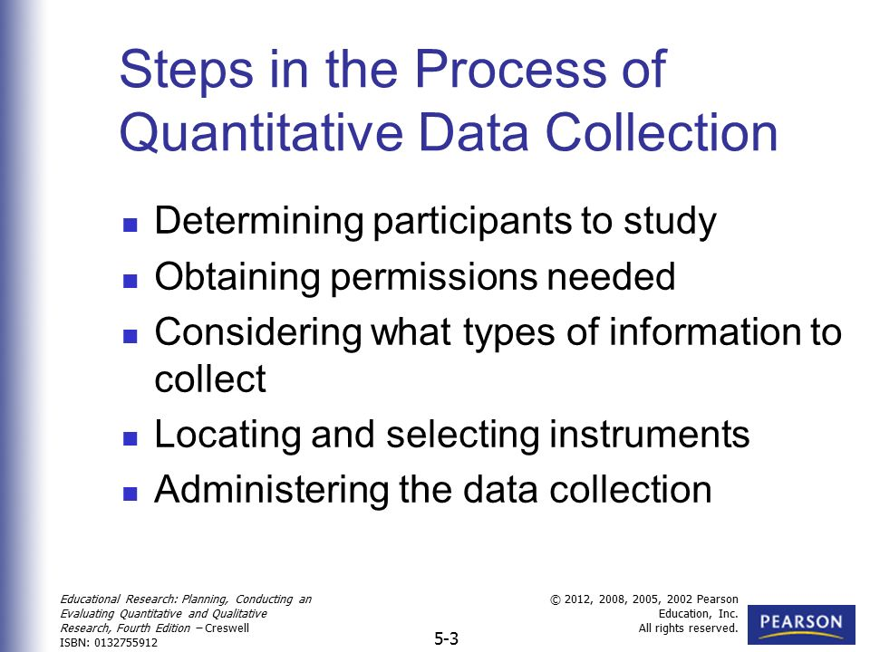 Collecting Quantitative Data - ppt video online download