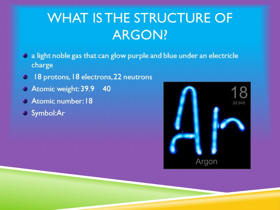 What Is Argon By Matthew Prell Ppt Download