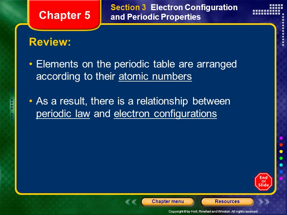 Chapter 5 Section 1 History Of The Periodic Table Ppt Download