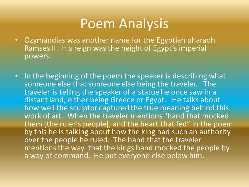 ozymandias analysis power