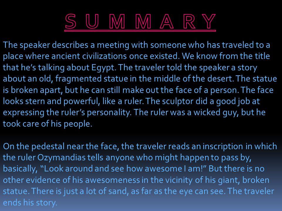 what is the theme of ozymandias