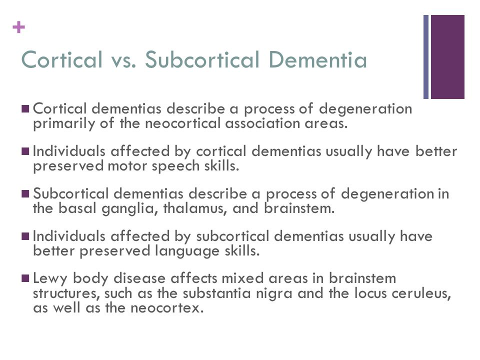 Diffuse Lesions Dementia Ppt Download