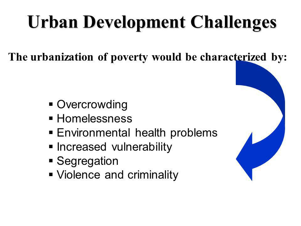 Urban Development Challenges