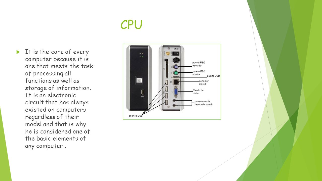 Computer Parts Ppt Video Online Download Cpu Diagram