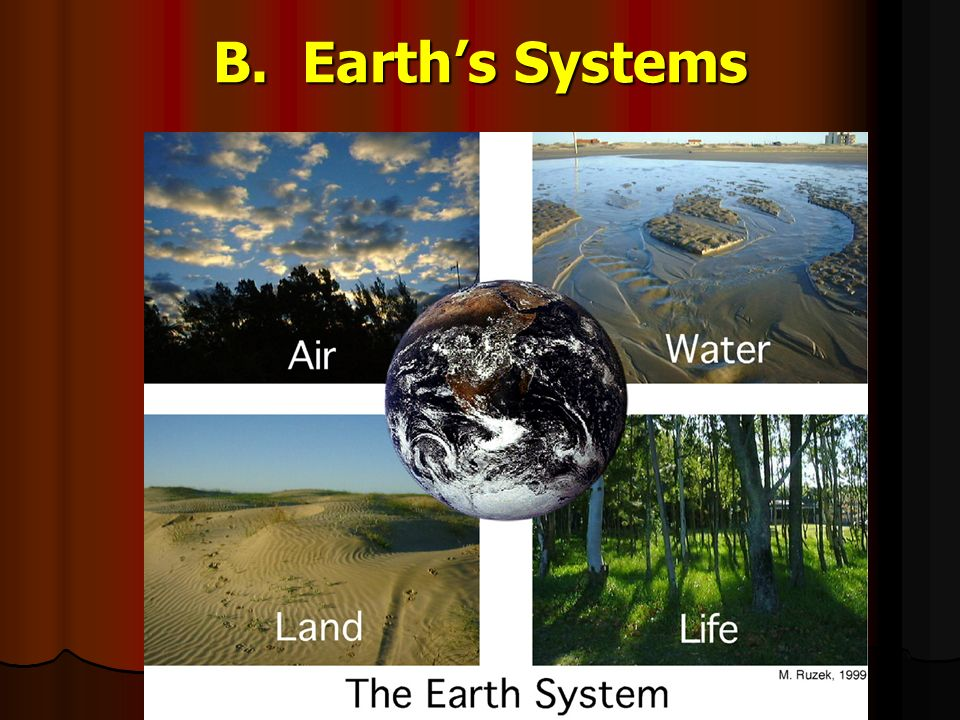 B. Earth's Systems