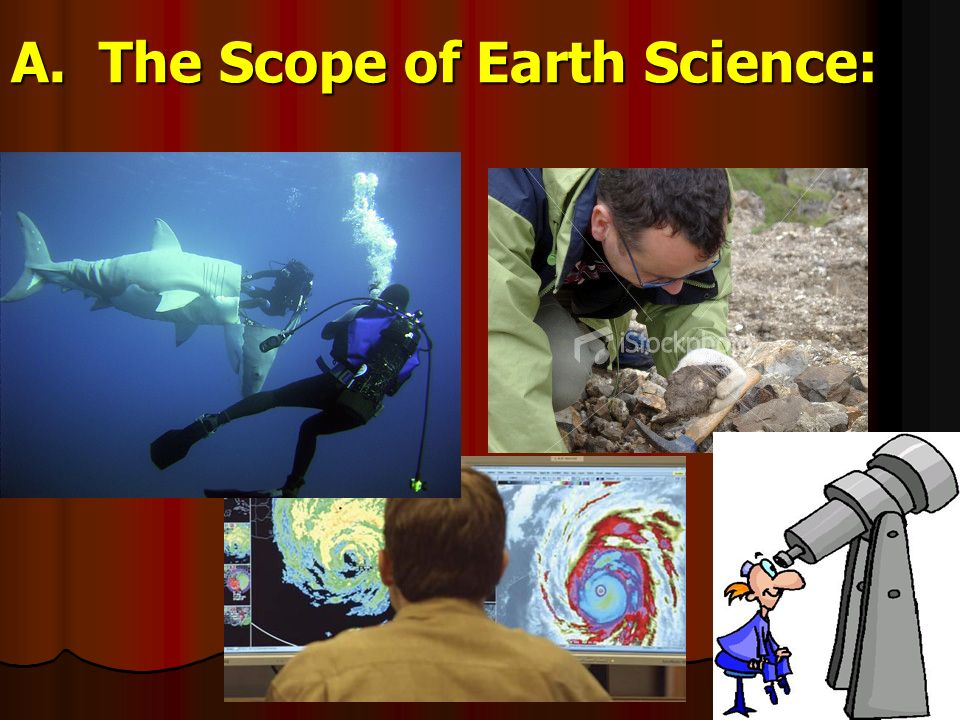 A. The Scope of Earth Science: