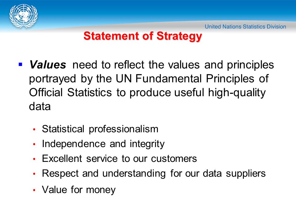 Statement of Strategy