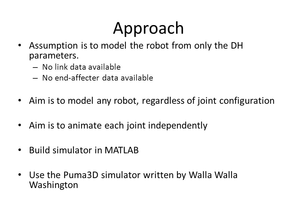 MATLAB Robot Simulator - ppt video online download