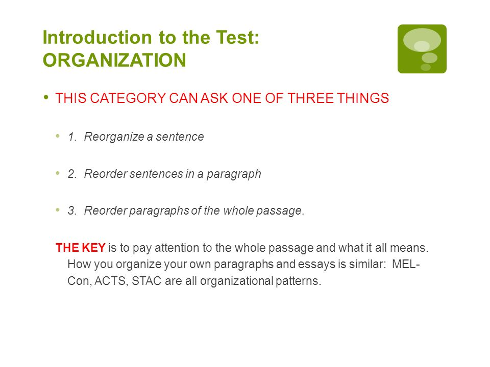 ACT English Preparation - ppt download