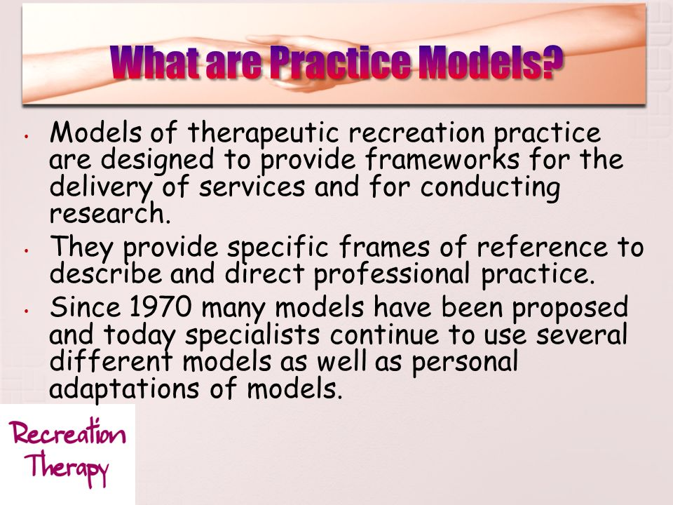 peterson and gunn therapeutic recreation model