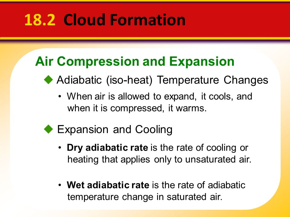 18.2 Cloud Formation Air Compression and Expansion