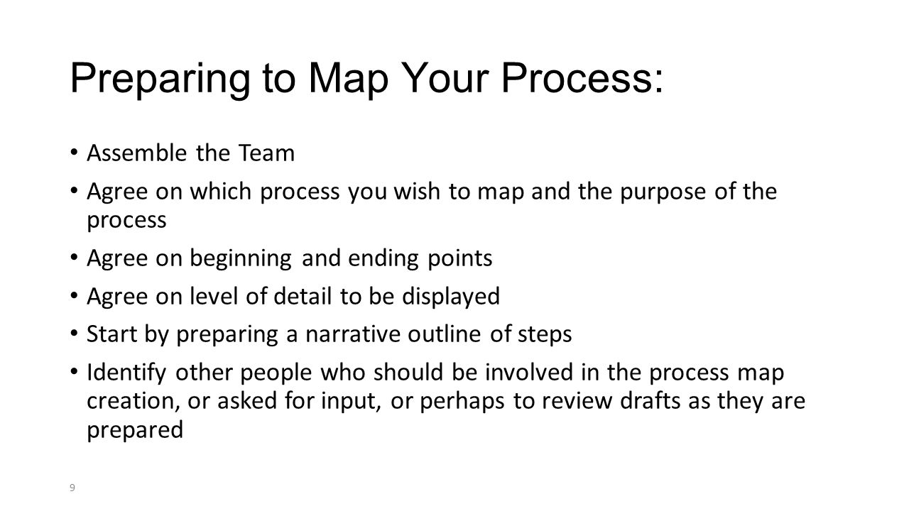 Detailed Process Mapping Ppt Video Online Download