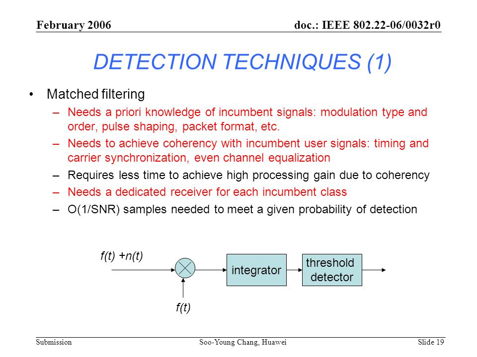 DETECTION TECHNIQUES (1)