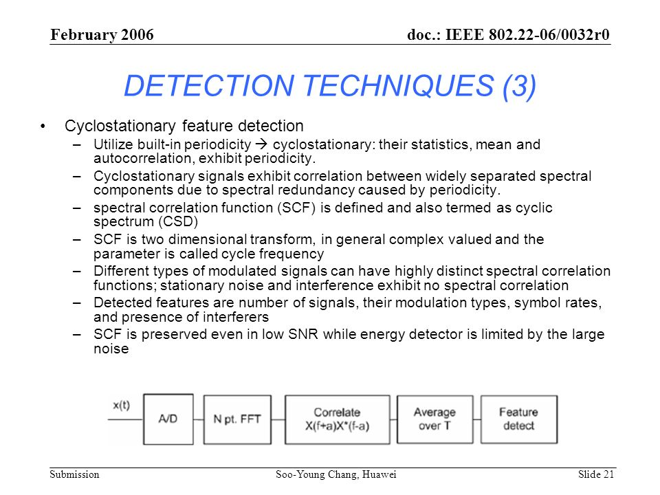 DETECTION TECHNIQUES (3)