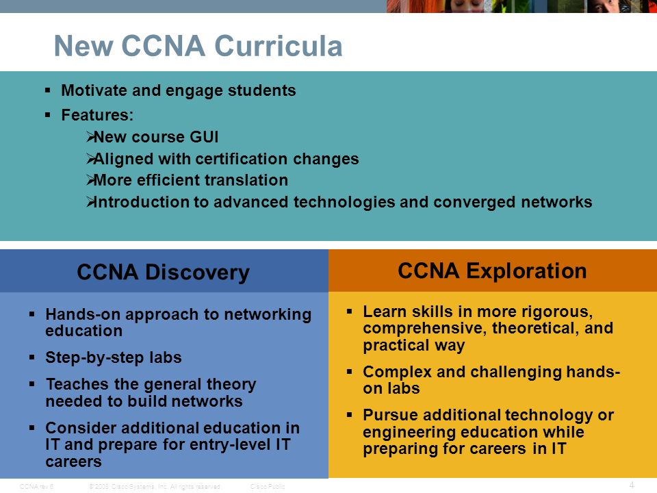 cisco networking academy new ccna curricula exploration ppt download rh slideplayer com Cisco CCNA Lab Cisco Networking Lab