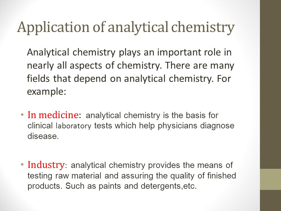 Analytical Chemistry MLAB 243 Level 4 Lecture Time Every WED Ppt