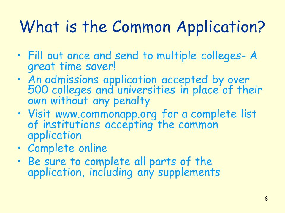 What is the Common Application