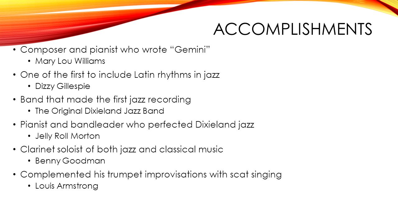 Jazz Chapter ppt video online download