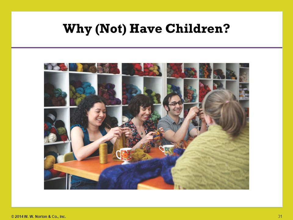 Why (Not) Have Children