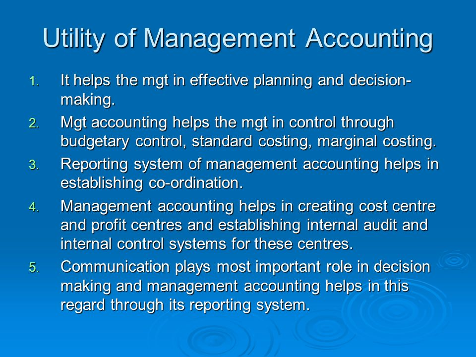 Management Accounting- Nature And Scope - ppt video online