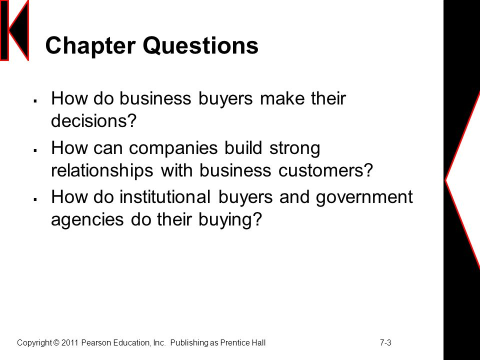 chapter 7 analyzing business markets
