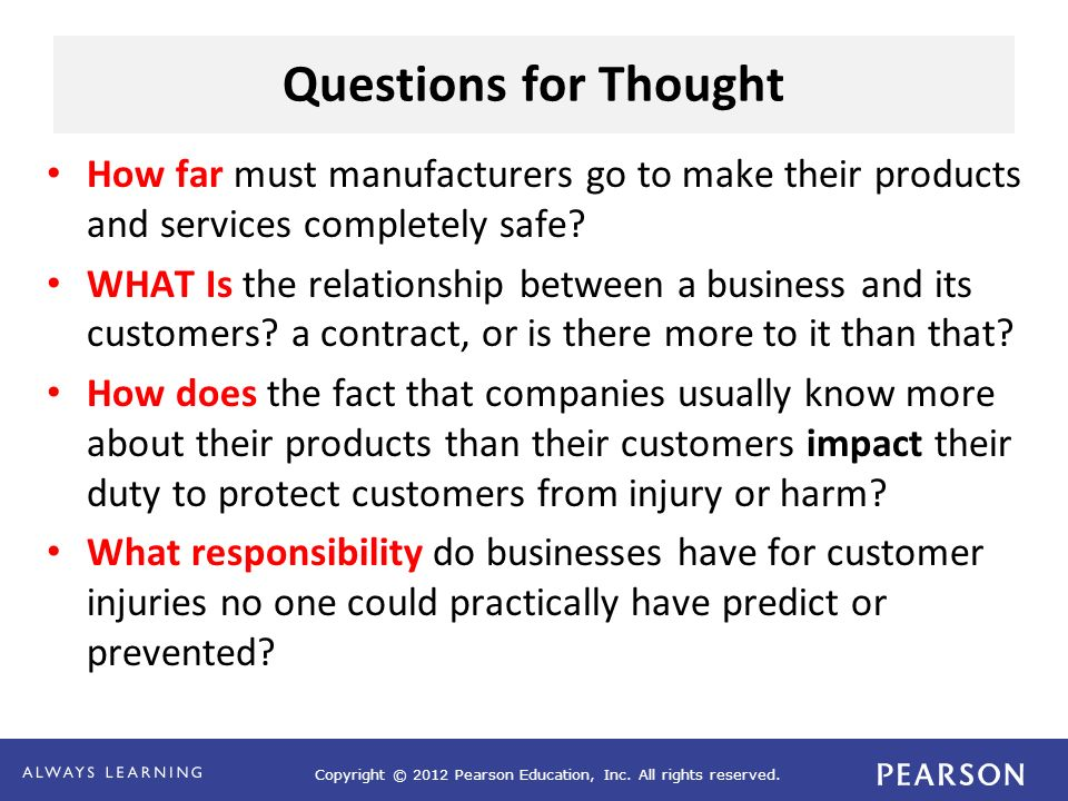 Chapter 4 The Ethics Of Manufacturing And Marketing Ppt Video
