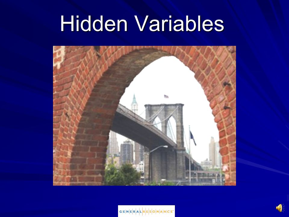 Hidden Variables