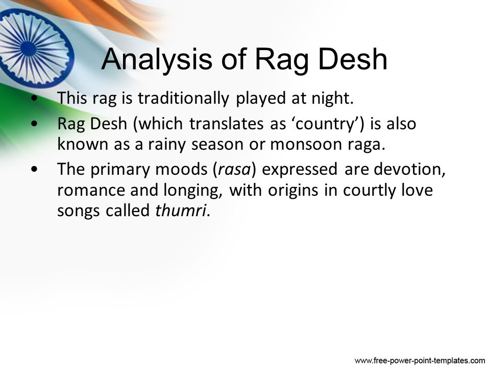 Lesson 2: Rag Desh Version 1: Anoushka Shankar - ppt download